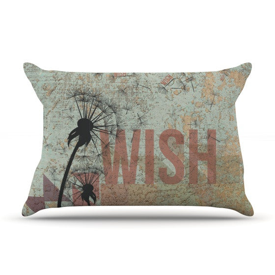 "KESS Original ""Wish"" Pillow Sham - KESS InHouse"