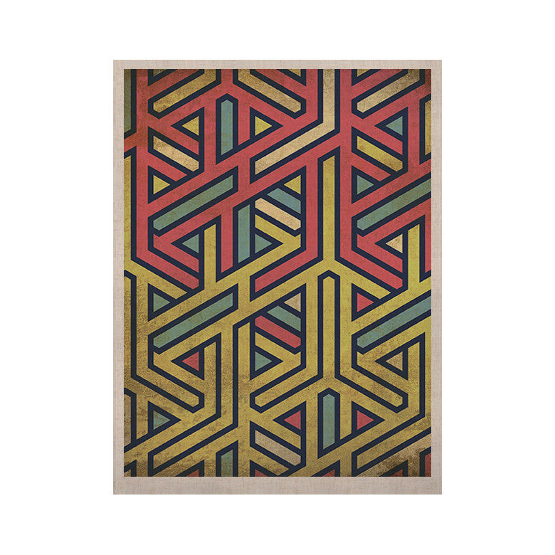 "KESS Original ""Deco"" KESS Naturals Canvas (Frame not Included) - KESS InHouse  - 1"