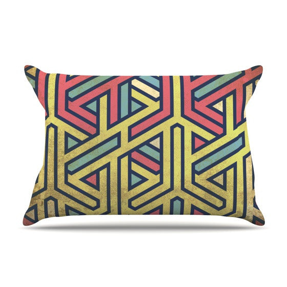 "KESS Original ""Deco"" Pillow Sham - KESS InHouse"