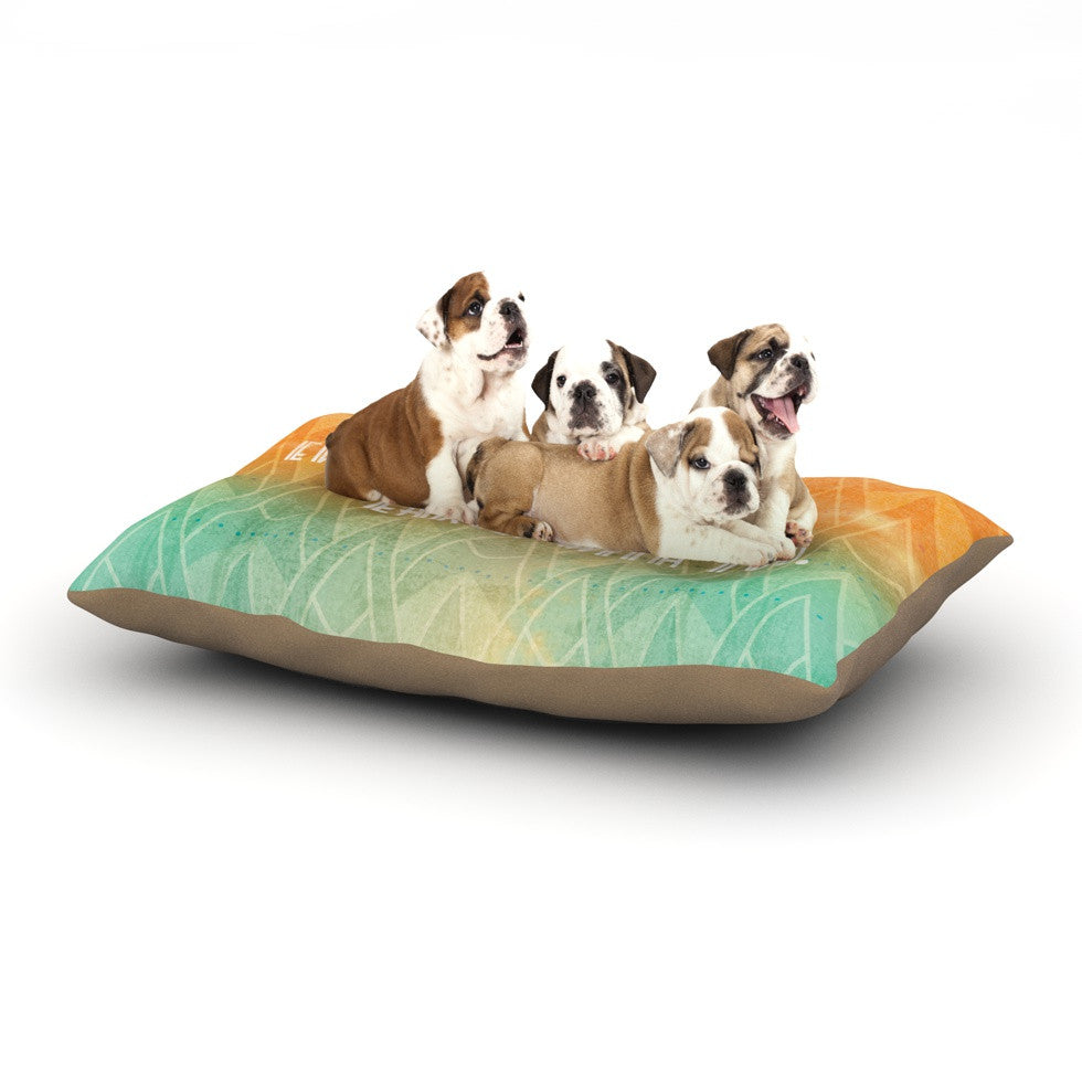 "KESS Original ""Deco II"" Dog Bed - KESS InHouse  - 1"