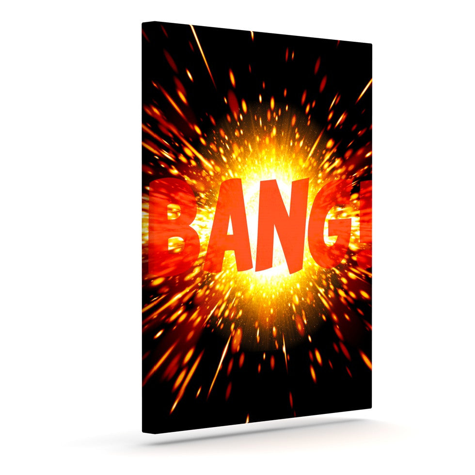 "KESS Original ""Bang"" Outdoor Canvas Wall Art - KESS InHouse  - 1"