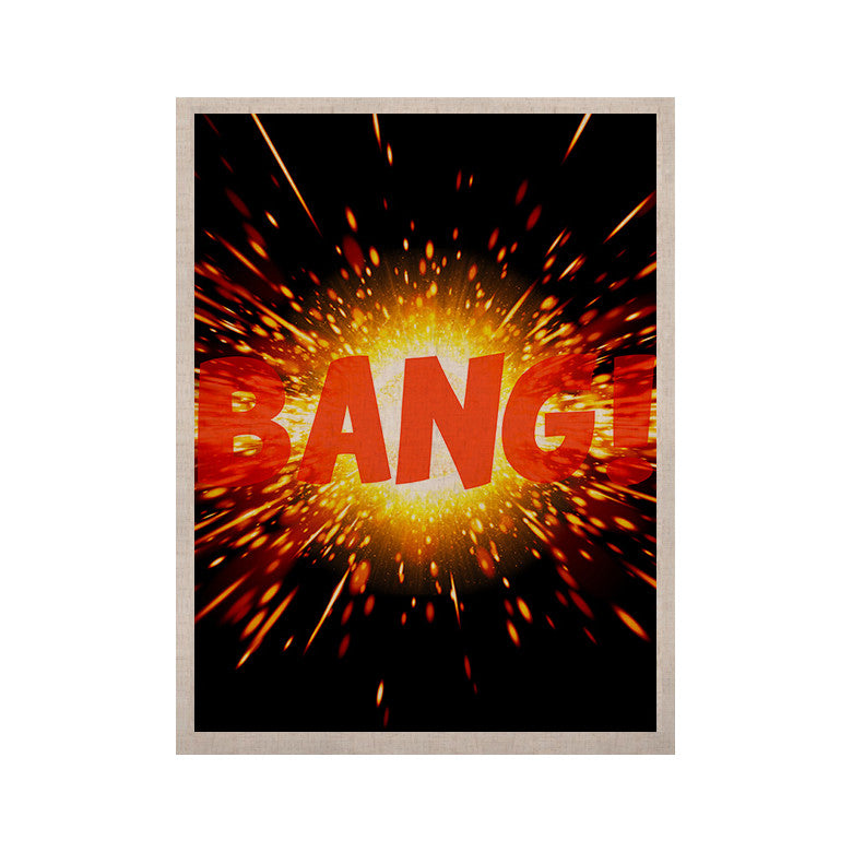"KESS Original ""Bang"" KESS Naturals Canvas (Frame not Included) - KESS InHouse  - 1"