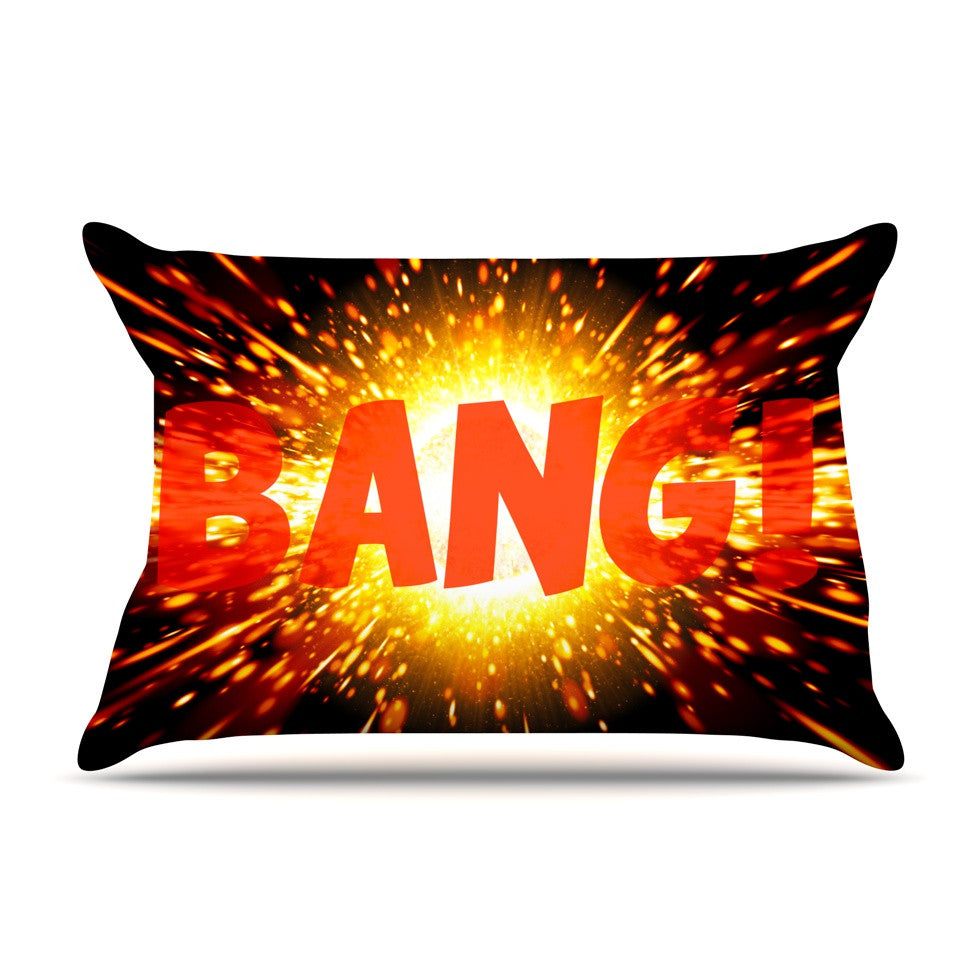 "KESS Original ""Bang"" Pillow Sham - KESS InHouse"