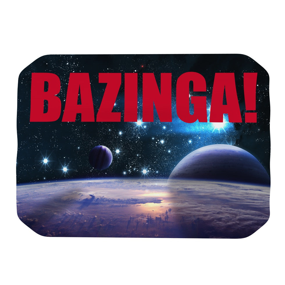 "KESS Original ""Bazinga Red"" Place Mat - KESS InHouse"