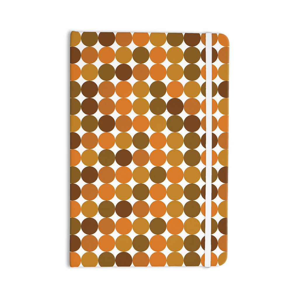 "KESS Original ""Noblefur Orange Harvest"" Everything Notebook - KESS InHouse  - 1"