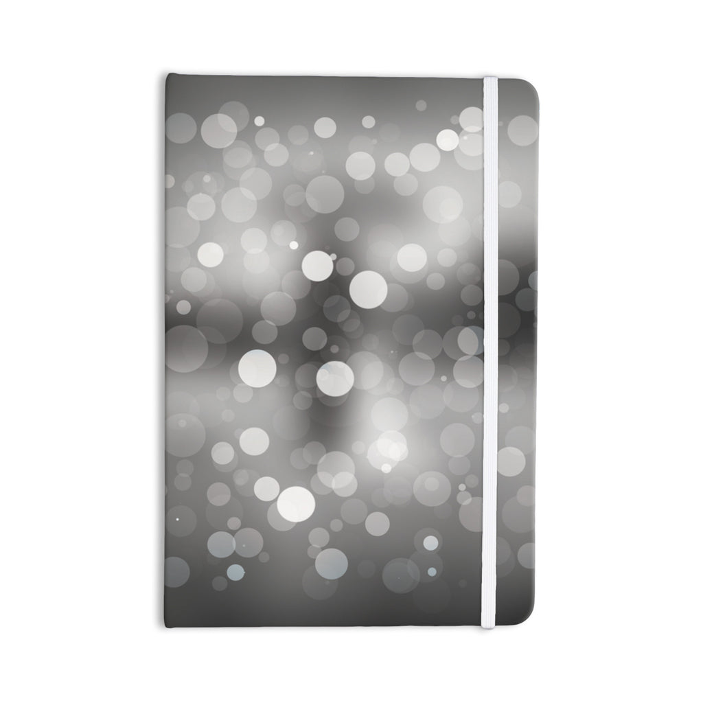 "KESS Original ""Spectral"" Gray Bokeh Everything Notebook - KESS InHouse  - 1"