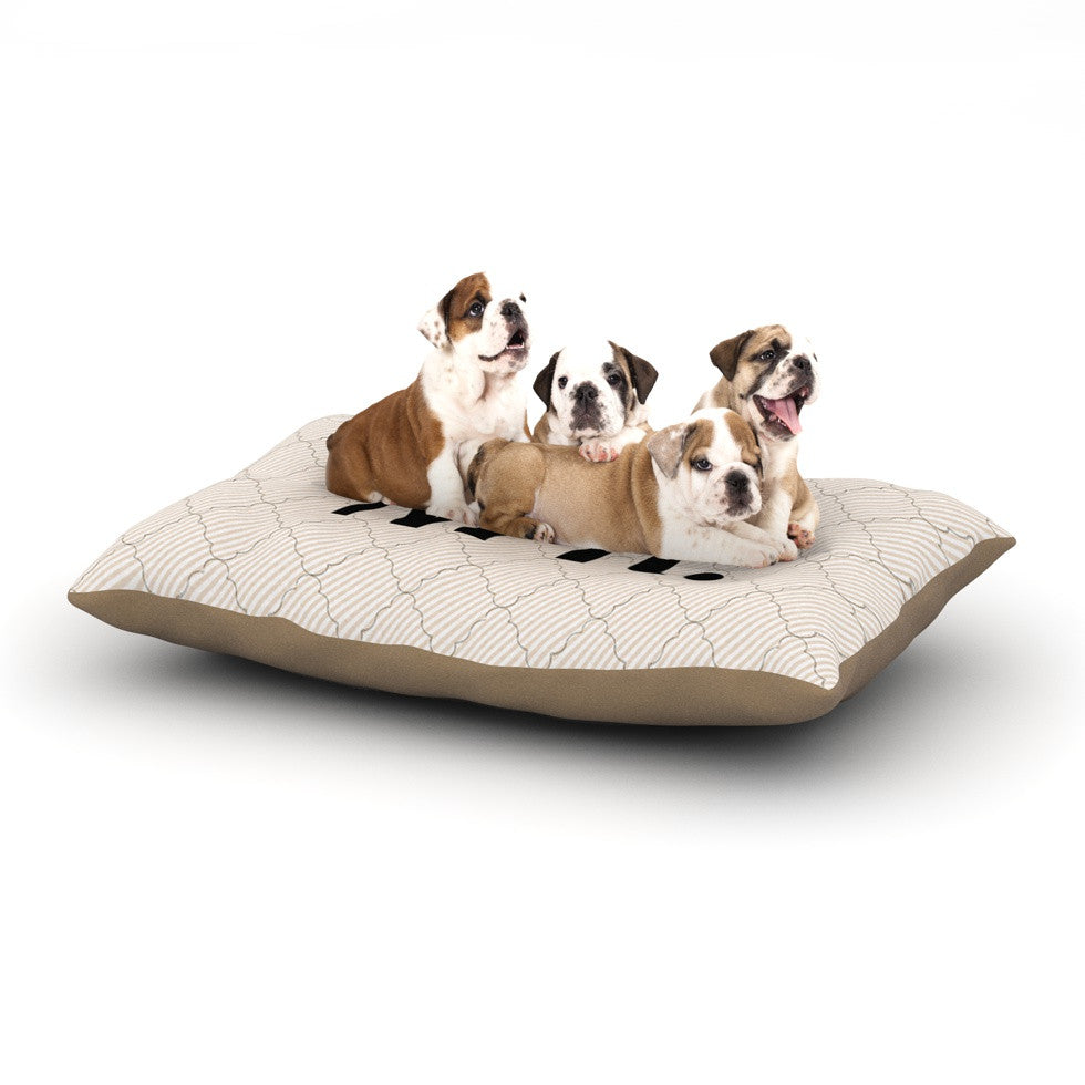 "KESS Original ""MR"" Dog Bed - KESS InHouse  - 1"