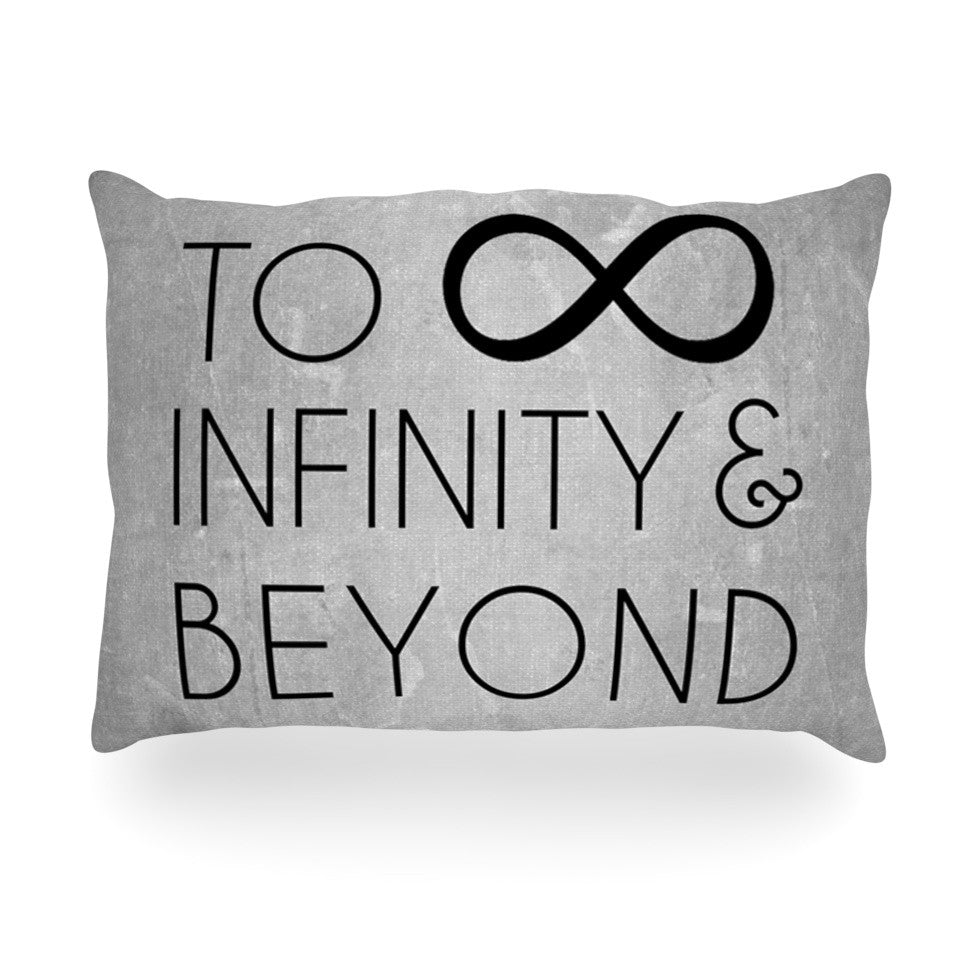 "KESS Original ""To Infinity & Beyond"" Oblong Pillow - KESS InHouse"