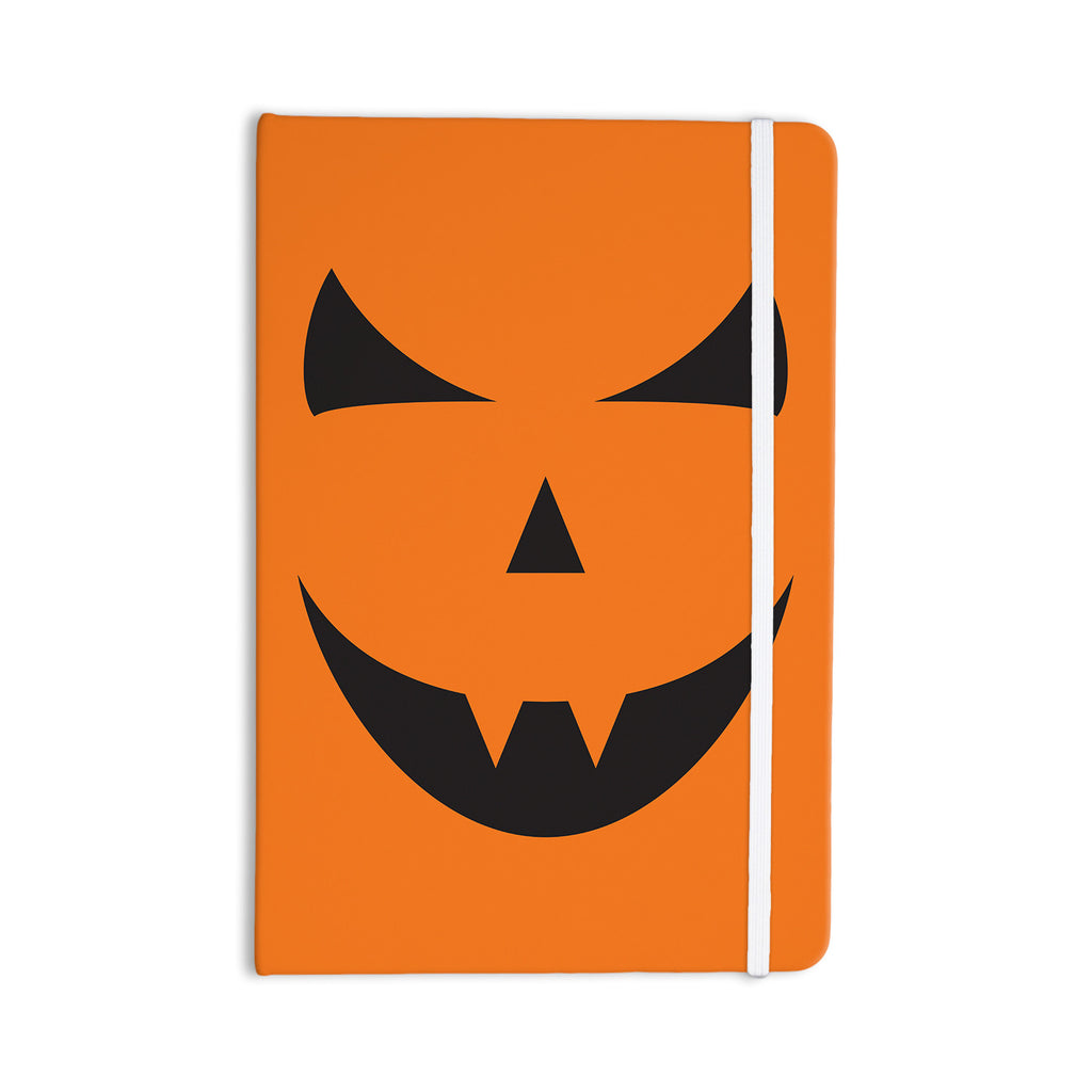 "KESS Original ""Pumpkin - Trick"" Everything Notebook - KESS InHouse  - 1"