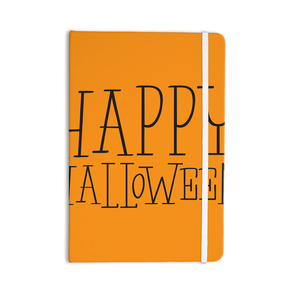 "KESS Original ""Happy Halloween - Orange"" Everything Notebook - KESS InHouse  - 1"