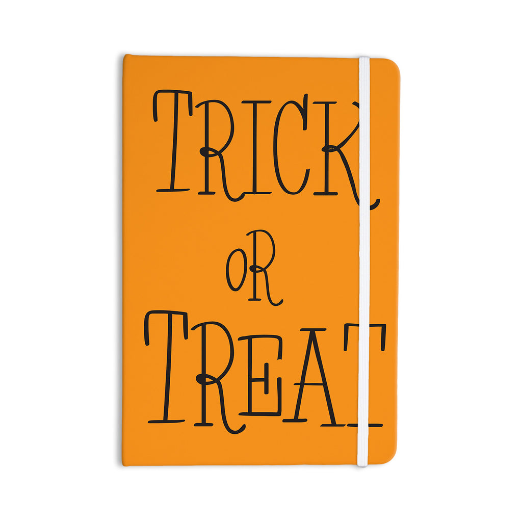 "KESS Original ""Trick or Treat - Black"" Everything Notebook - KESS InHouse  - 1"