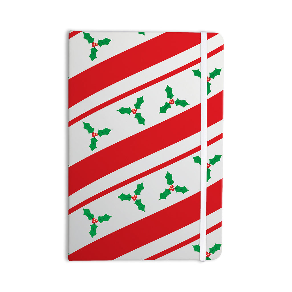 "KESS Original ""Holiday Holly"" Christmas Holiday Everything Notebook - KESS InHouse  - 1"