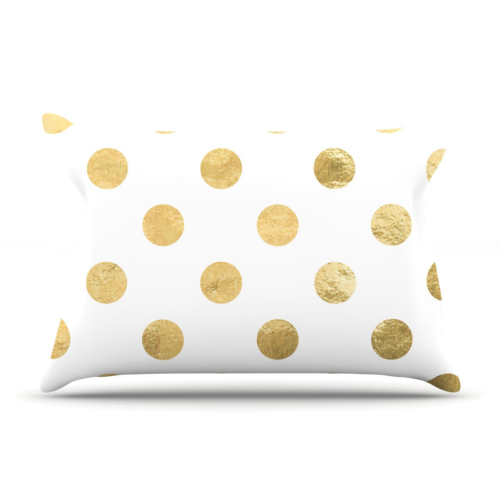 "KESS Original ""Scattered Gold"" Pillow Sham - KESS InHouse"