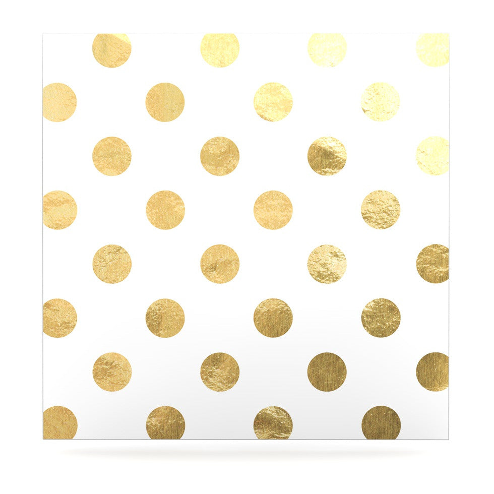 "KESS Original ""Scattered Gold"" Luxe Square Panel - KESS InHouse  - 1"