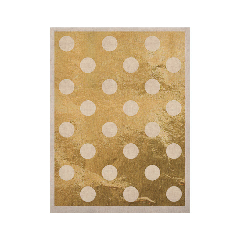 "KESS Original ""Scattered White"" KESS Naturals Canvas (Frame not Included) - KESS InHouse  - 1"