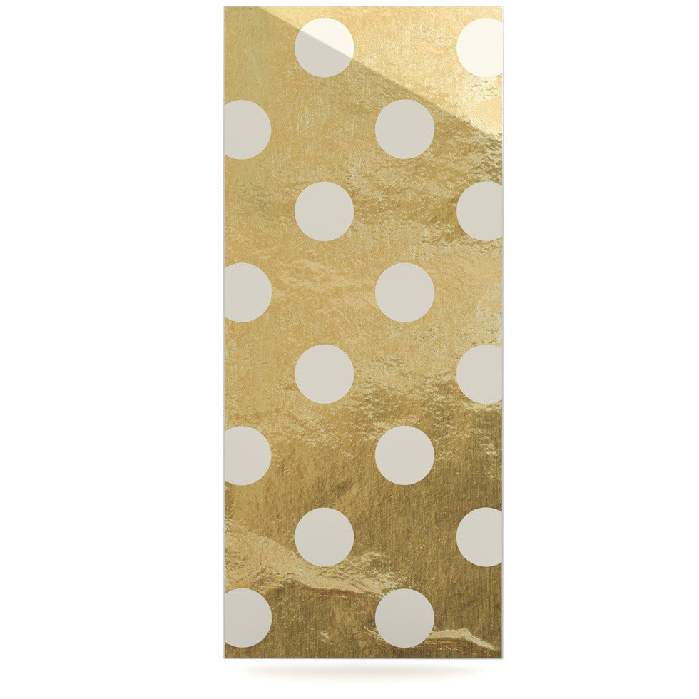 "KESS Original ""Scattered White"" Luxe Rectangle Panel - KESS InHouse  - 1"