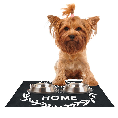 "Kess Original ""Home Sweet Home"" Dog Place Mat - Outlet Item"