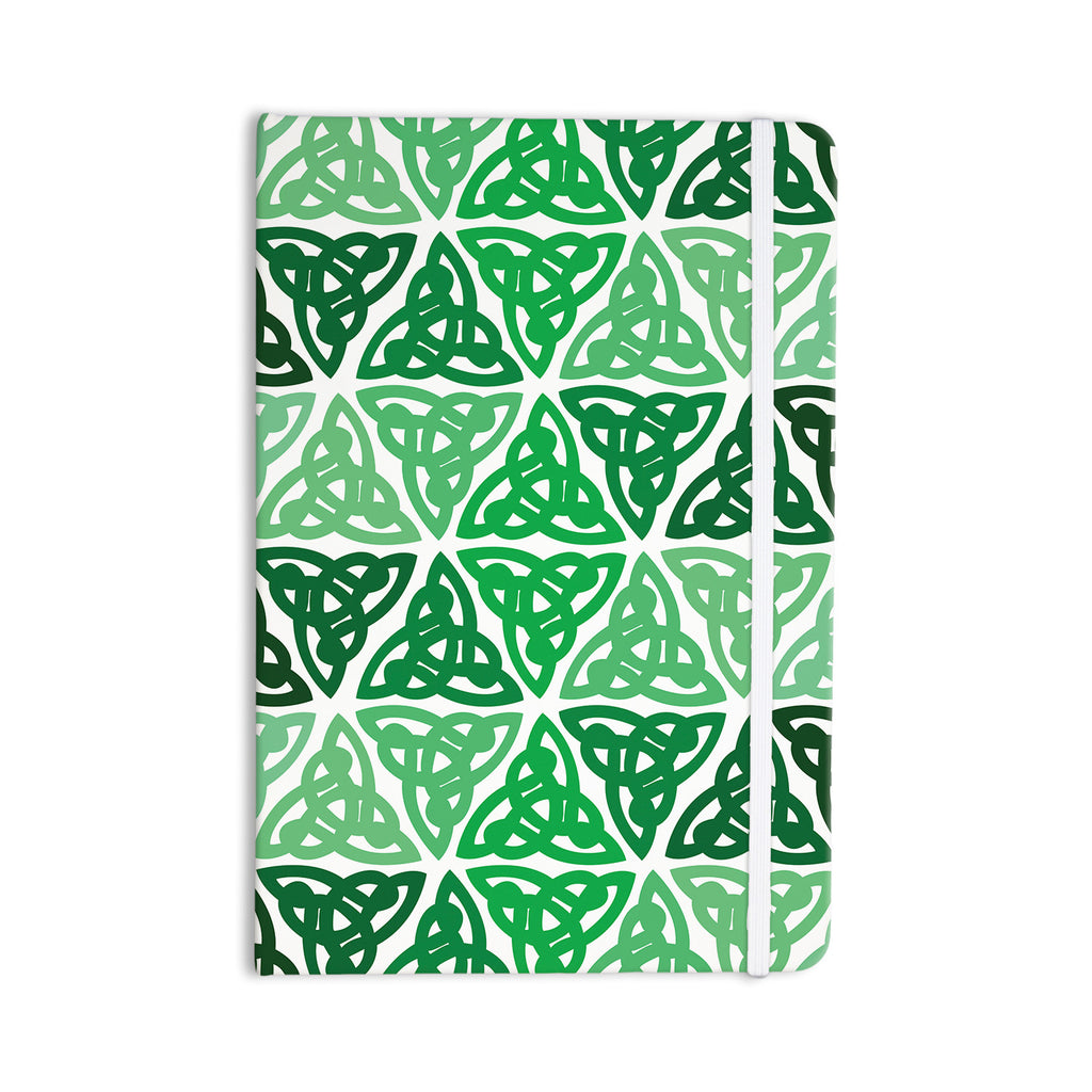 "KESS Original ""Celtic Knot Green"" Forest Mint Everything Notebook - KESS InHouse  - 1"