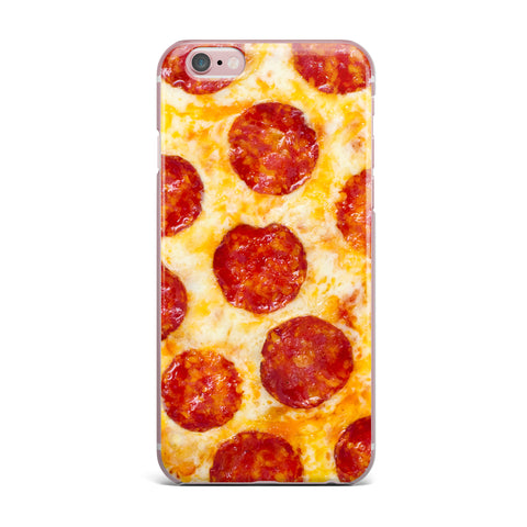 "Kess Original ""Pizza My Heart"" Pepperoni Cheese Art iPhone Case - Outlet Item"