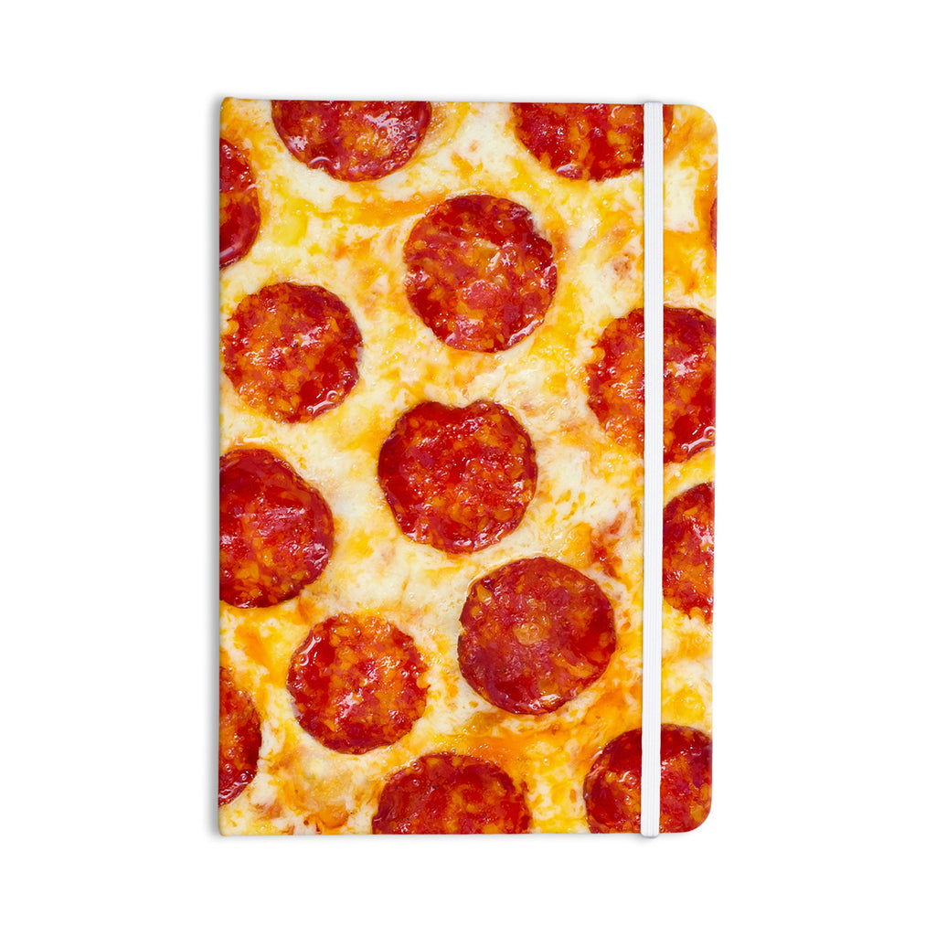 "KESS Original ""Pizza My Heart"" Pepperoni Cheese Everything Notebook - KESS InHouse  - 1"