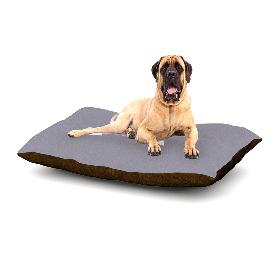 monogrammed small dog beds - noten animals