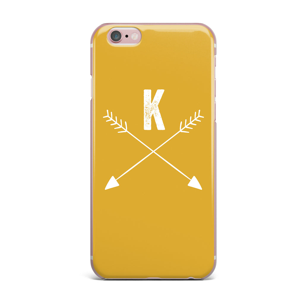 check out 23785 2b678 Golden Arrow Monogram iPhone Case by KESS Original | KESS ...