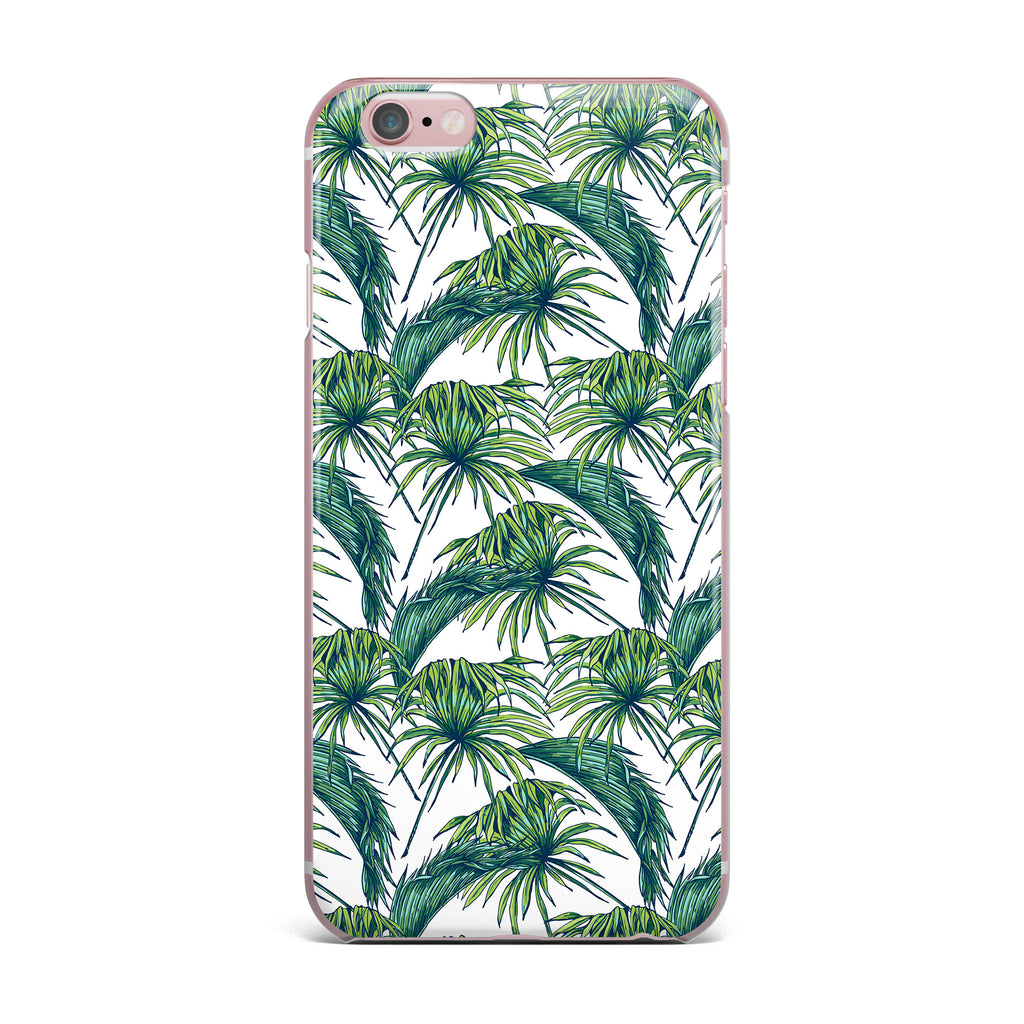 "Kess Original ""Palmtastic"" Green Nature iPhone Case - KESS InHouse"