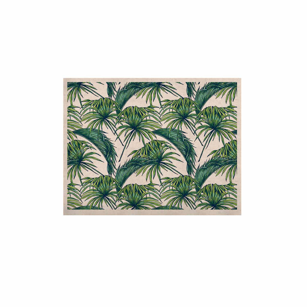 "Kess Original ""Palmtastic"" Green Nature KESS Naturals Canvas (Frame not Included) - KESS InHouse  - 1"