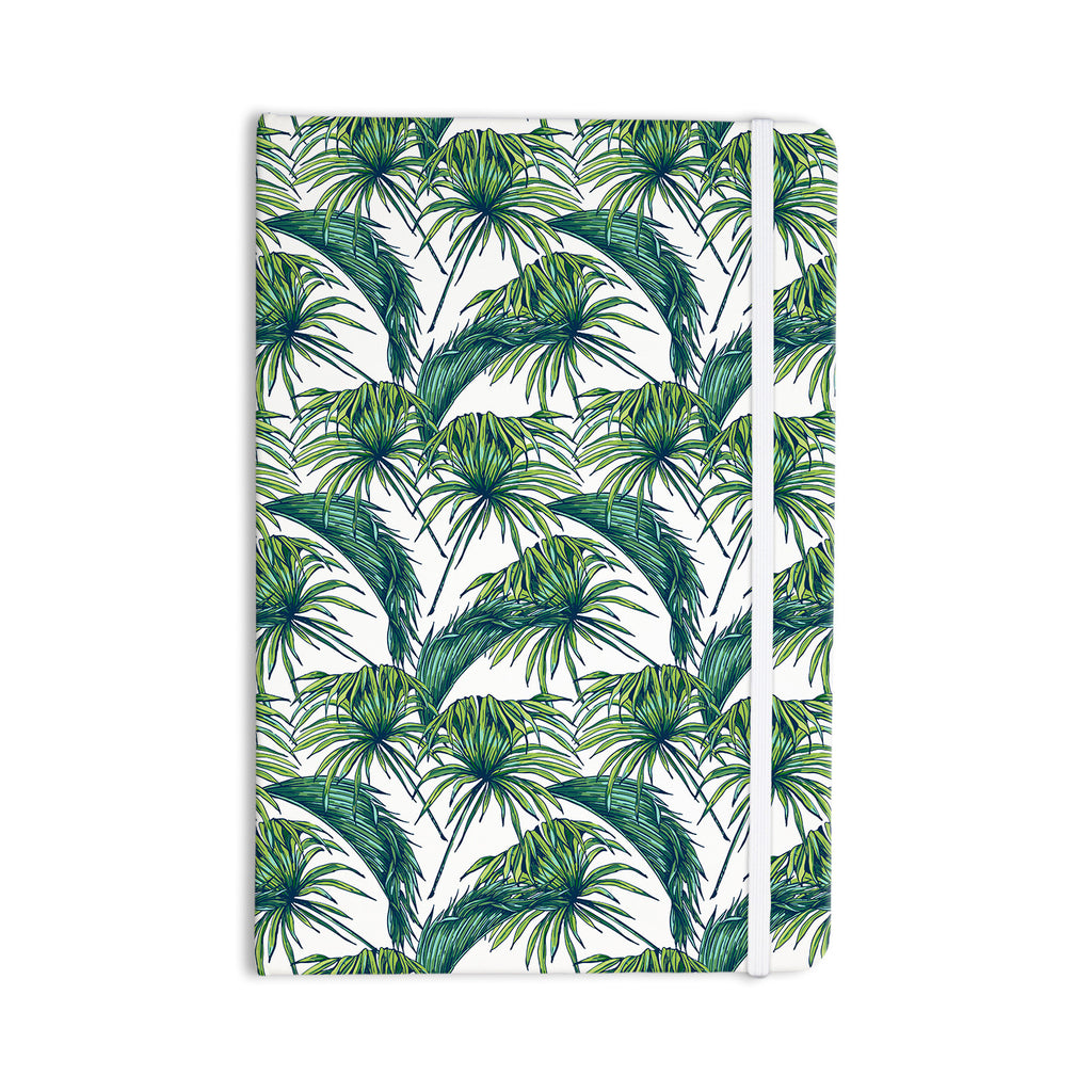 "Kess Original ""Palmtastic"" Green Nature Everything Notebook - KESS InHouse  - 1"