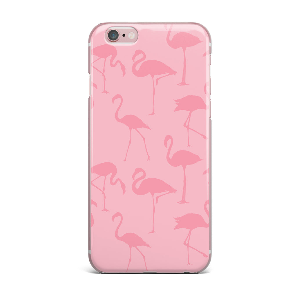 "Kess Original ""Pink On Pink"" Animals Abstract iPhone Case - KESS InHouse"
