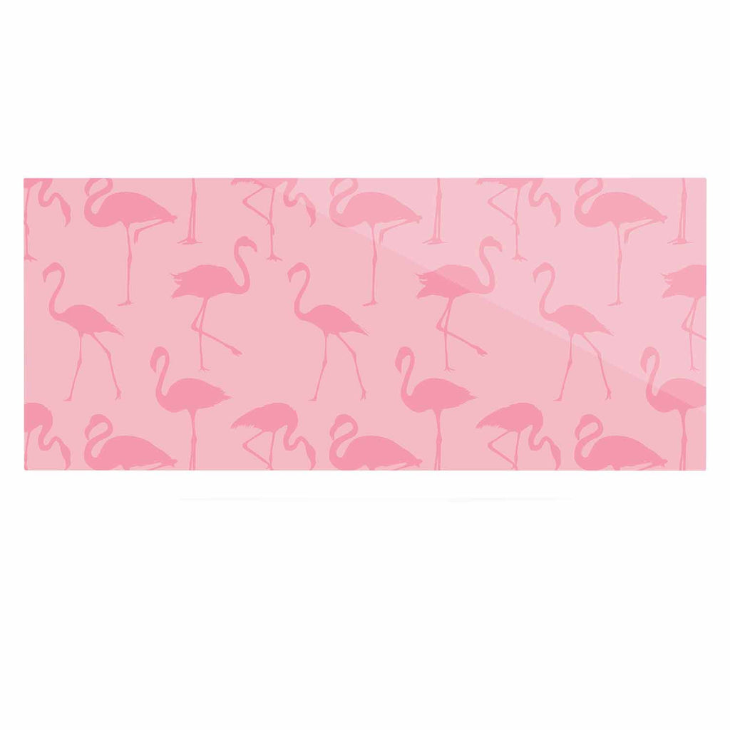 "Kess Original ""Pink On Pink"" Animals Abstract Luxe Rectangle Panel - KESS InHouse  - 1"