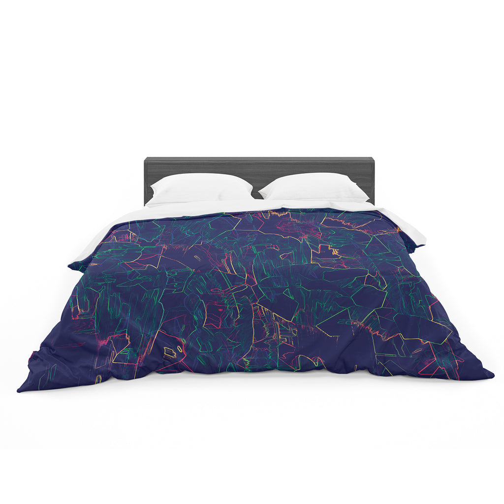 "Kathryn Pledger ""Night Life"" Cotton Duvet"