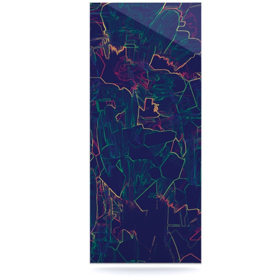 "Kathryn Pledger ""Night Life"" Luxe Rectangle Panel - KESS InHouse  - 1"
