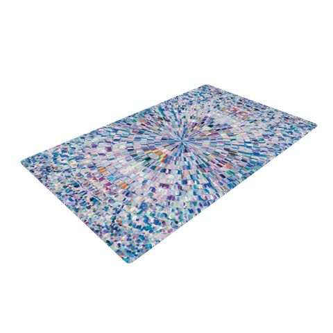 "Kathryn Pledger ""Looking""  Woven Area Rug - Outlet Item"