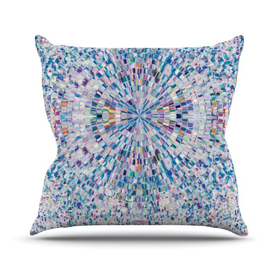 "Kathryn Pledger ""Looking"" Outdoor Throw Pillow - KESS InHouse  - 1"