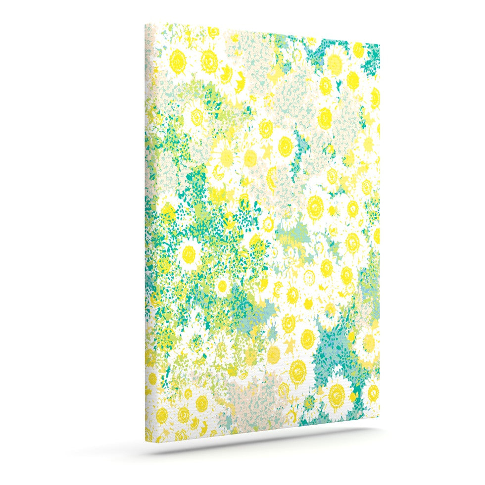 "Kathryn Pledger ""Myatts Meadow""  Outdoor Canvas Wall Art - KESS InHouse  - 1"