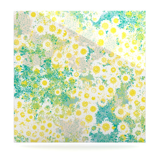 "Kathryn Pledger ""Myatts Meadow"" Luxe Square Panel - KESS InHouse  - 1"