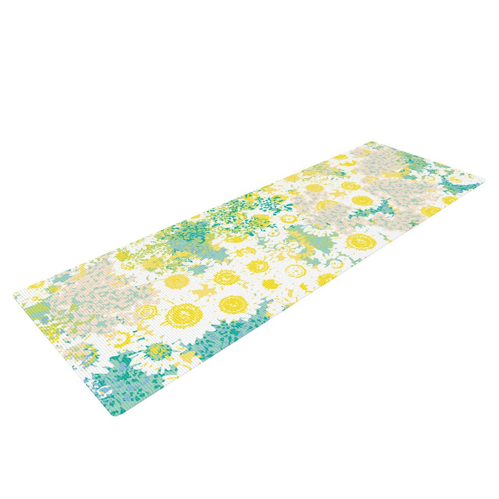 "Kathryn Pledger ""Myatts Meadow"" Yoga Mat - KESS InHouse  - 1"