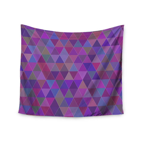 "Louise ""Abstract"" Purple Wall Tapestry - Outlet Item"