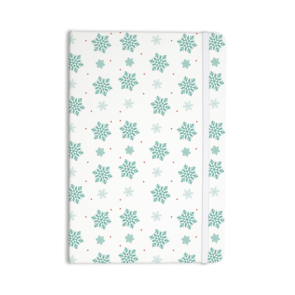 "Louise ""Snow"" Pastel White Everything Notebook - KESS InHouse  - 1"