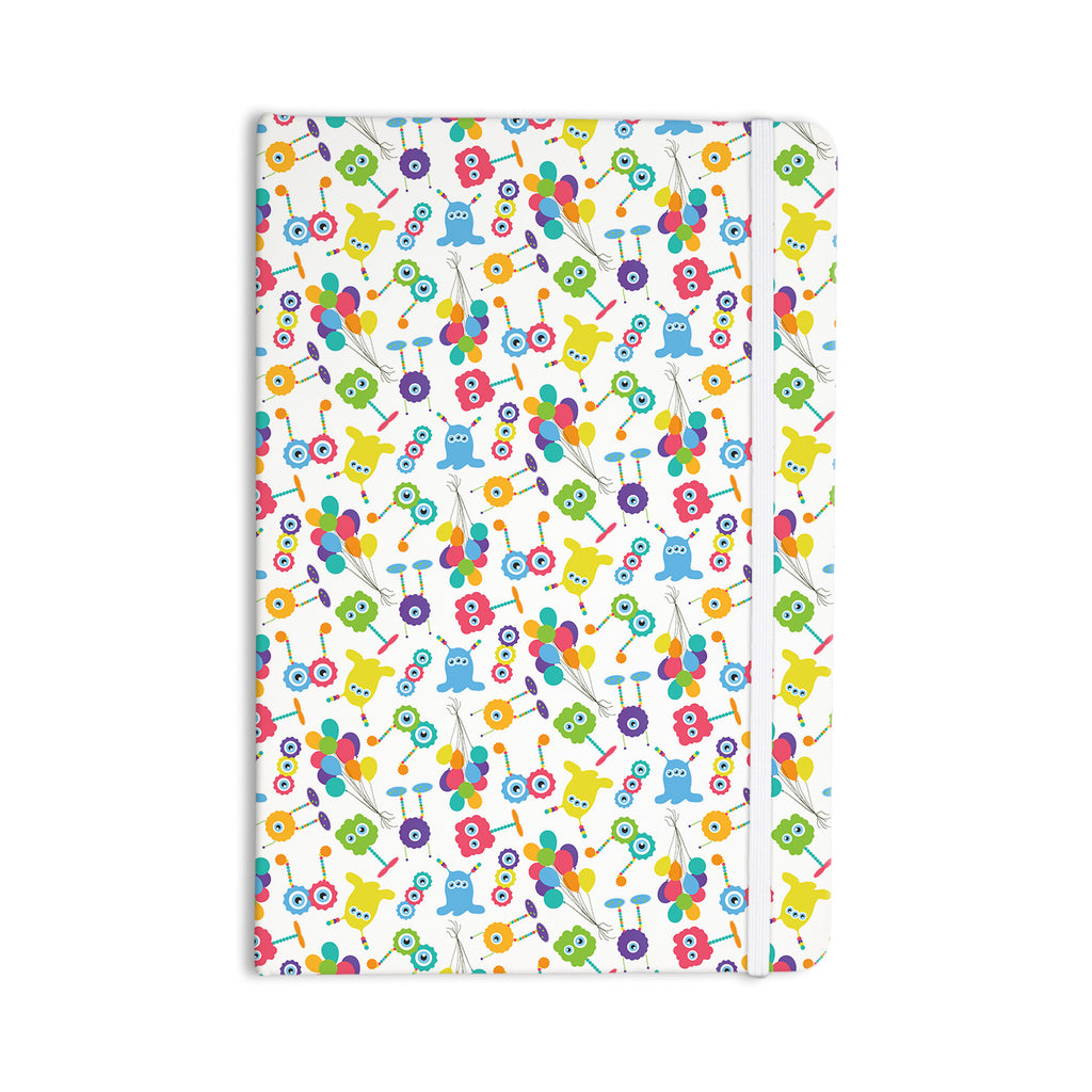 "Laura Escalante ""Fun Creatures"" Everything Notebook - KESS InHouse  - 1"