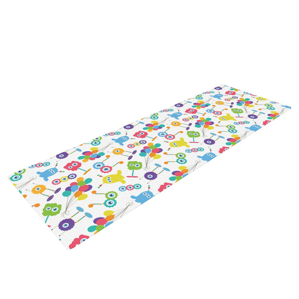 "Laura Escalante ""Fun Creatures"" Yoga Mat - KESS InHouse  - 1"