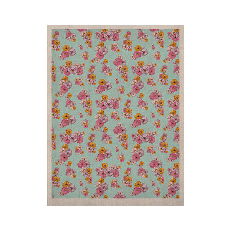 "Laura Escalante ""Paper Flower"" KESS Naturals Canvas (Frame not Included) - KESS InHouse  - 1"
