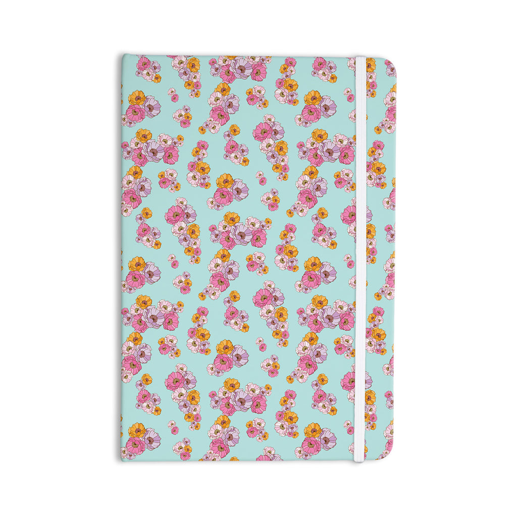 "Laura Escalante ""Paper Flower"" Everything Notebook - KESS InHouse  - 1"