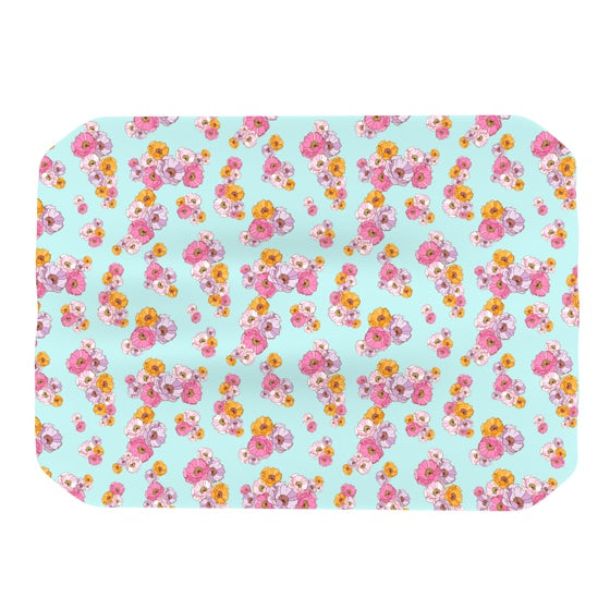 "Laura Escalante ""Paper Flower"" Place Mat - KESS InHouse"