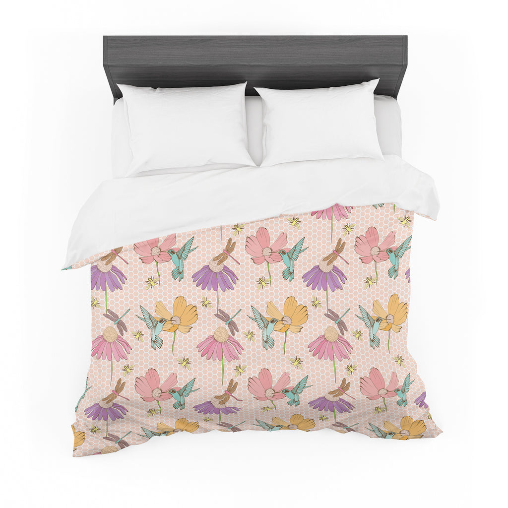 "Laura Escalante ""Magic Garden"" Cotton Duvet"
