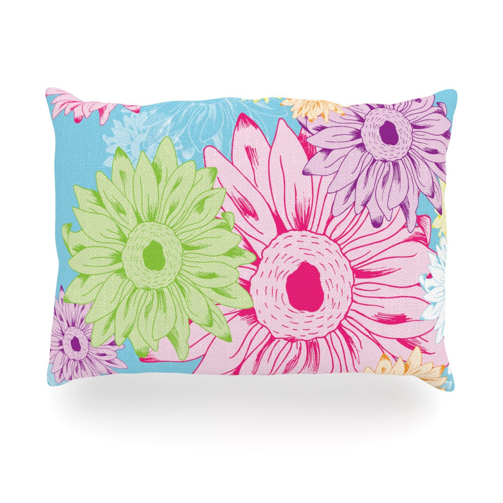 "Laura Escalante ""Summer Time"" Oblong Pillow - KESS InHouse"