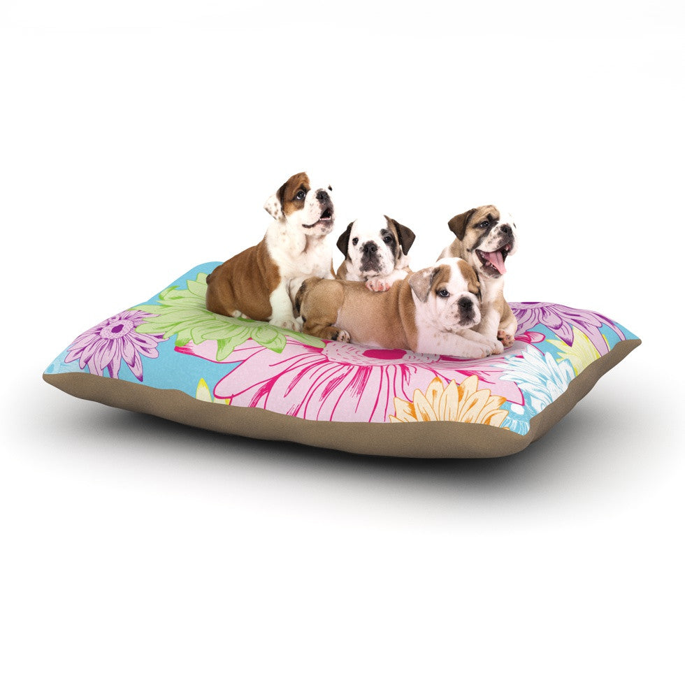 "Laura Escalante ""Summer Time"" Dog Bed - KESS InHouse  - 1"