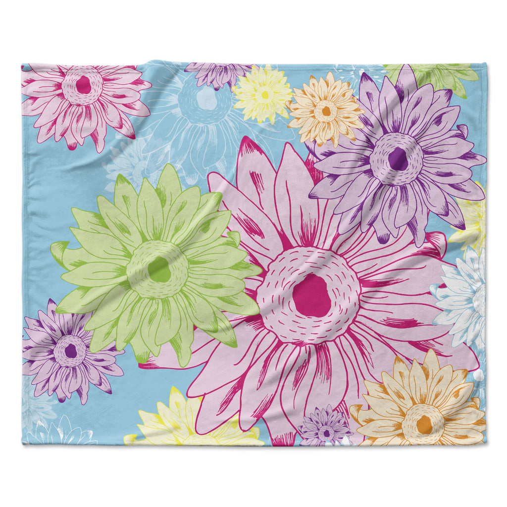 "Laura Escalante ""Summer Time""  Fleece Throw Blanket"