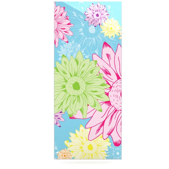 "Laura Escalante ""Summer Time"" Luxe Rectangle Panel - KESS InHouse  - 1"